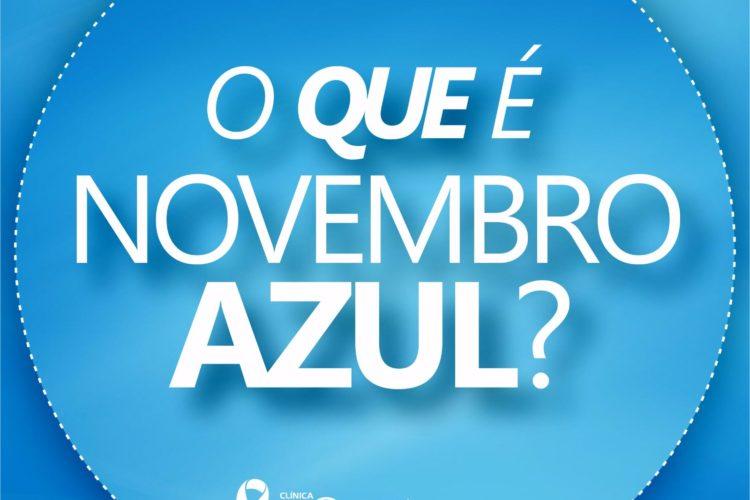 Novembro Azul – Saiba mais sobre o Câncer de Próstata